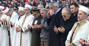 Şehit imam son yolculuğuna uğurlandı