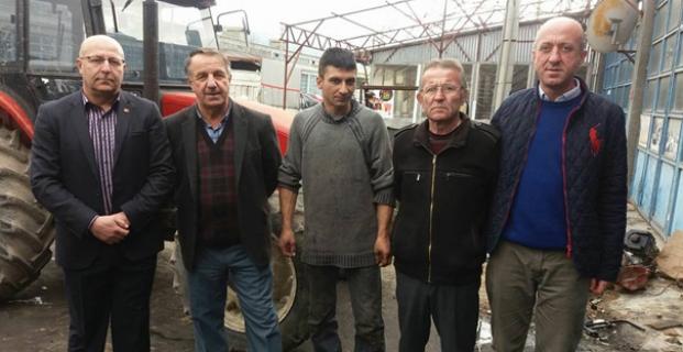 CHP sahaya indi, esnafı ziyaret etti