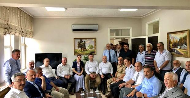 Valilerden Başkan Şen'e ziyaret