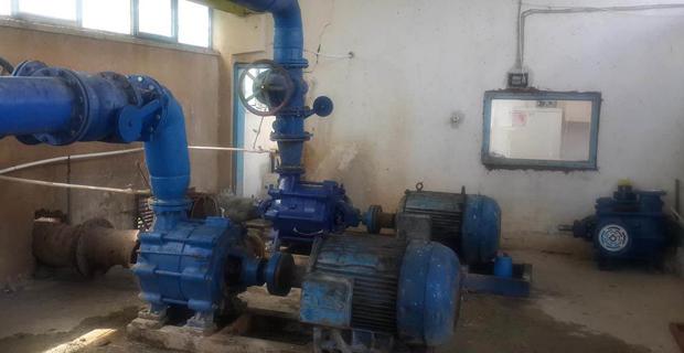 3 köyün, pompaj tesisi onarıldı