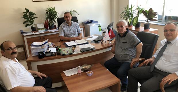 Başkan Şen'den Müdür Kılpelit'e ziyaret