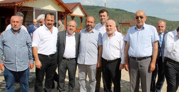 Devlet büyükleri, Özlem Kuzu Çevirme'de ağırlandı
