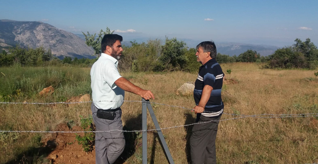 Günyazı'da gelir getirici ağaçlandırma çalışması
