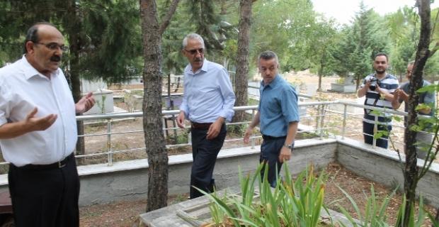 Kargı'da Şehit kabirleri ziyaret edildi