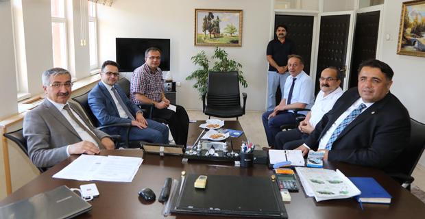 Vali Kılıç'tan Başkan Şen'e ziyaret