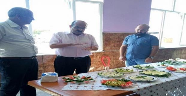 Başkan Şen, peynir kursunu inceledi