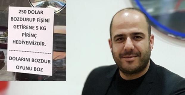 Bilgin'den 'Dolarını Bozdur' kampanyası