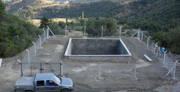 Kargı'nın 5 köyü bu havuzdan yararlanacak