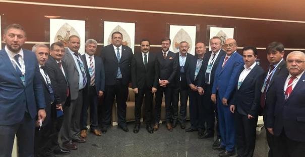 AK Parti İlçe Başkanları Başkentte toplandı