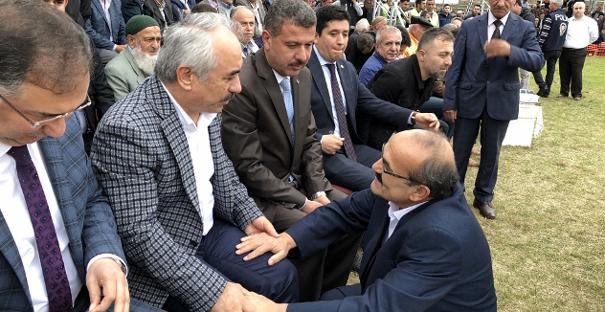 Başkan Şen, Bakan Ersoy'u Kargı Panayıra davet etti
