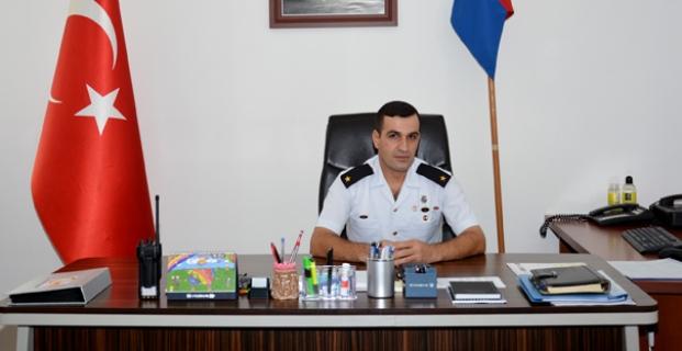 Kargı Jandarma Komutanı Özmen göreve başladı