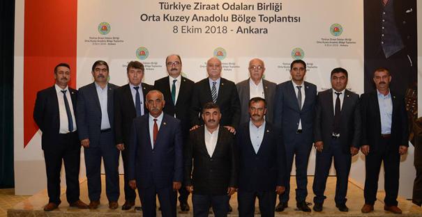 Ziraat Odası Başkanları Ankara'da toplandı
