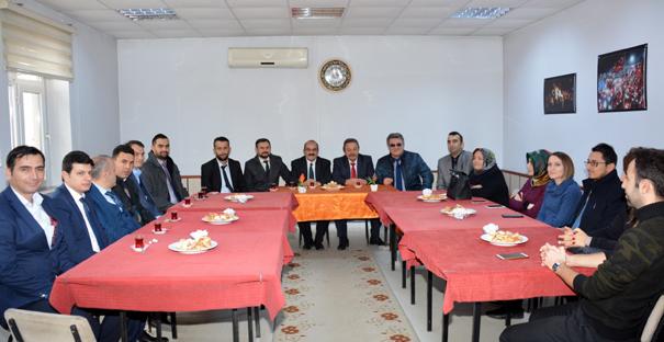 Başkan Şen, öğretmenlerle bir araya geldi