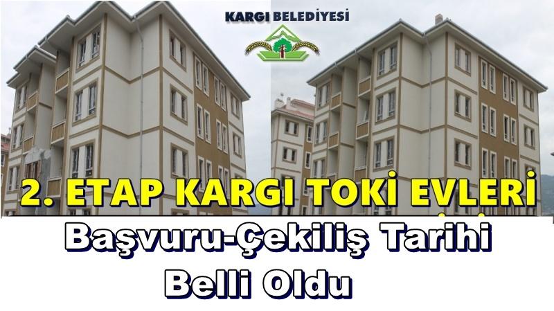 Kargı TOKİ'de başvurular 3-7 Aralık'ta
