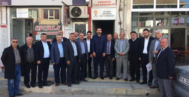 MHP İlçe Başkanları Osmancık'ta toplandı