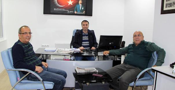 Odabaş ve Özdilek'ten Sungurlu Gazetesi'ne ziyaret