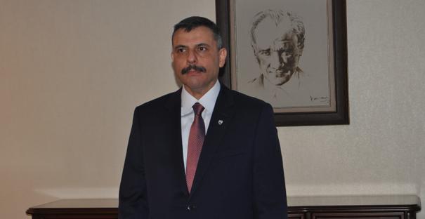 Vali Mustafa Çiftçi Çorum'da