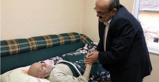Başkan Şen'den yaşlı ve hastalara ziyaret