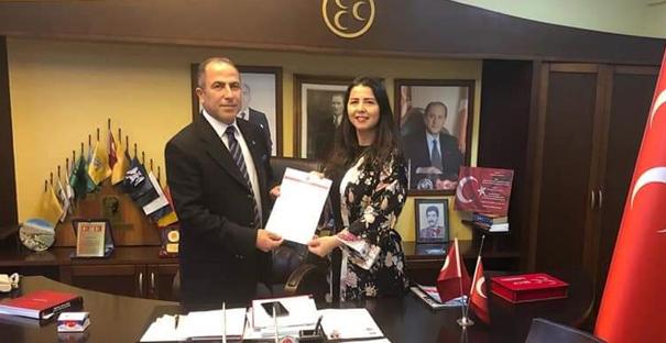 Büşra Düzgün, Kadıköy Belediyesine talip