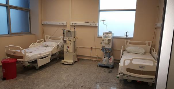 Hastaneye 2 yeni diyaliz cihazı