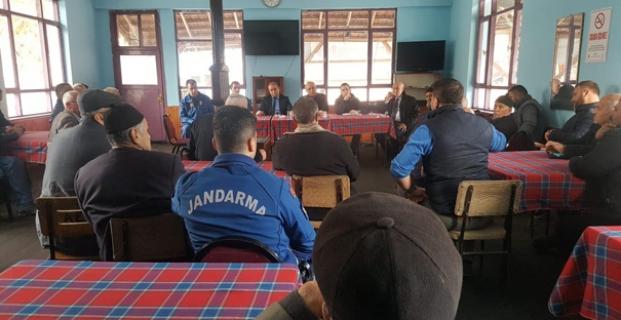 Kaymakam Taş, Hacıhamza Köyü'nün taleplerini dinledi