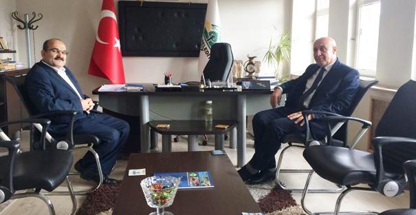 Müdür Genç'ten Başkan Şen'e ziyaret