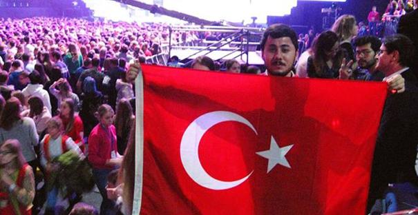 Doğan, Rusya'da Türkiye'yi temsil etti!