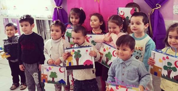 Kargı Ayşe Anne Anaokulu miniklerinin mutluluğu
