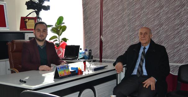 Milli Eğitim Müdürü Genç'tenKargı Gazetesi'ni ziyaret