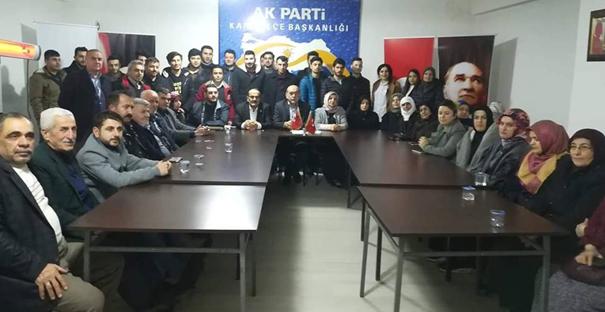 Şen'den ilk ziyaret aday adaylarına...