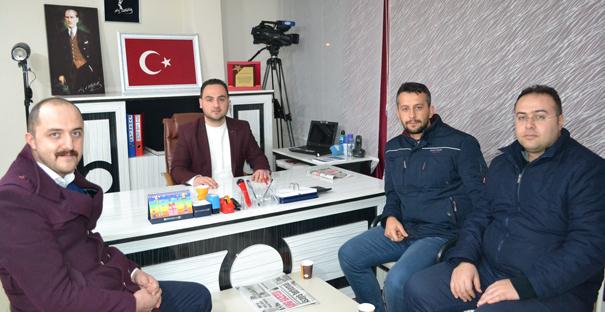 Türk Eğitim Sen'den hayırlı olsun ziyareti