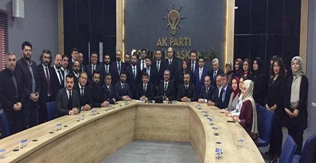 AK Parti il  yönetimi açıklandı