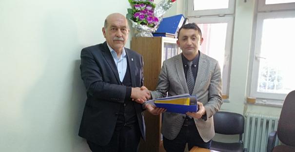Ak Parti, Kargı'da listelerini Seçim Kurulu'na teslim etti
