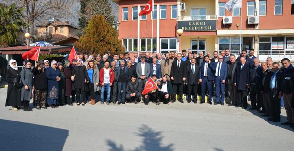 AK Parti Teşkilatı Çorum mitingine katıldı