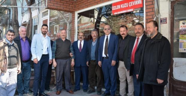 Başkan Şen'den esnaf ziyaretleri
