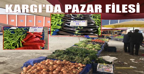 Kargı'da sebze meyve fiyatları cep yakıyor