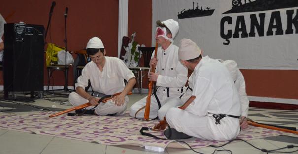 18 Mart Çanakkale düzenlenen geceyle anıldı