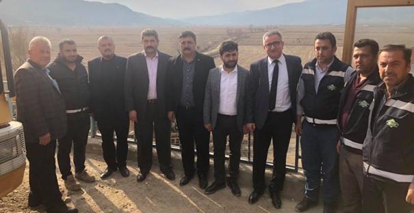 Bolpaça, belediye personellerini ziyaret etti