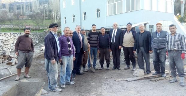 İl Genel Meclisi Adayları köyleri karış karış geziyor