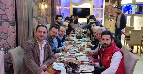 İstanbul'daki Kargılılar kahvaltıda buluştu