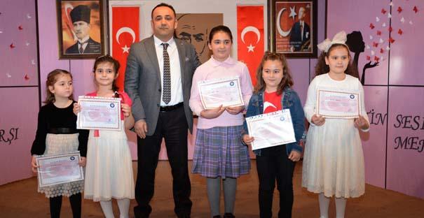 İstiklal Marşını en güzel okumak için yarıştılar