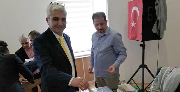 ÇORDEF Başkanlığına Gölten seçildi