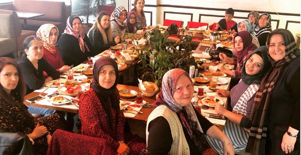 Garguca, İstanbul'da oturan kadınları bir araya getirdi