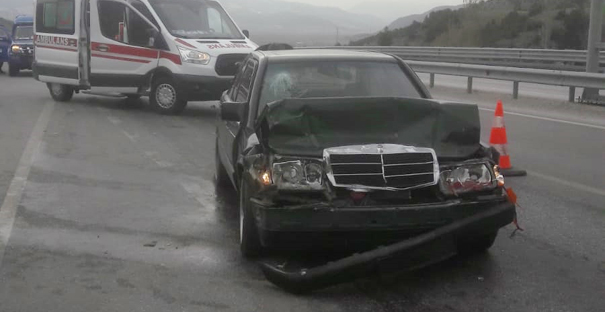 Kargı'da trafik kazası: 3 yaralı