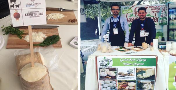 Kargı Tulum Peyniri, Bodrum Fuarı'nın ilgi odağı oldu