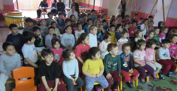 Tiyatro oyunu ile öğrencilere ormanın önemi anlatıldı