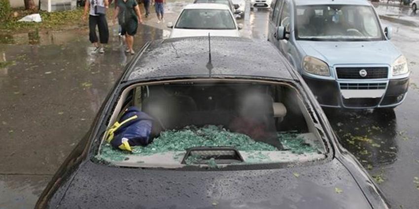 Doludan, 1500 araç etkilendi