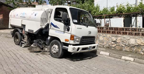 Kargı'da çevre düzenleme çalışmaları