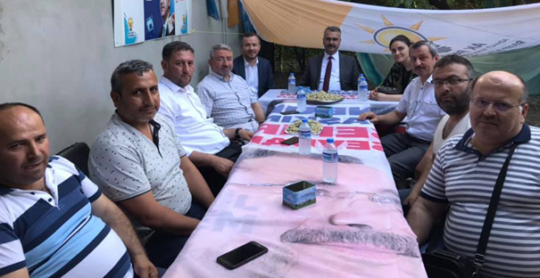 Ahlatcı, İstanbul'daki Kargılılarla buluştu