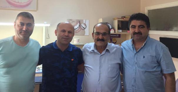 Başkan Şen, Selami Topcu ile görüştü